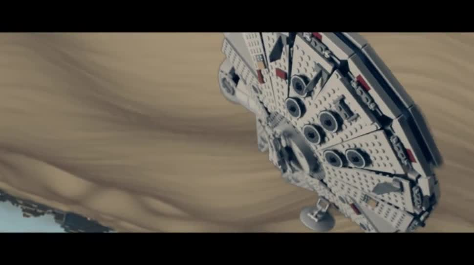 Trailer, Star Wars, Lego, Episode VII