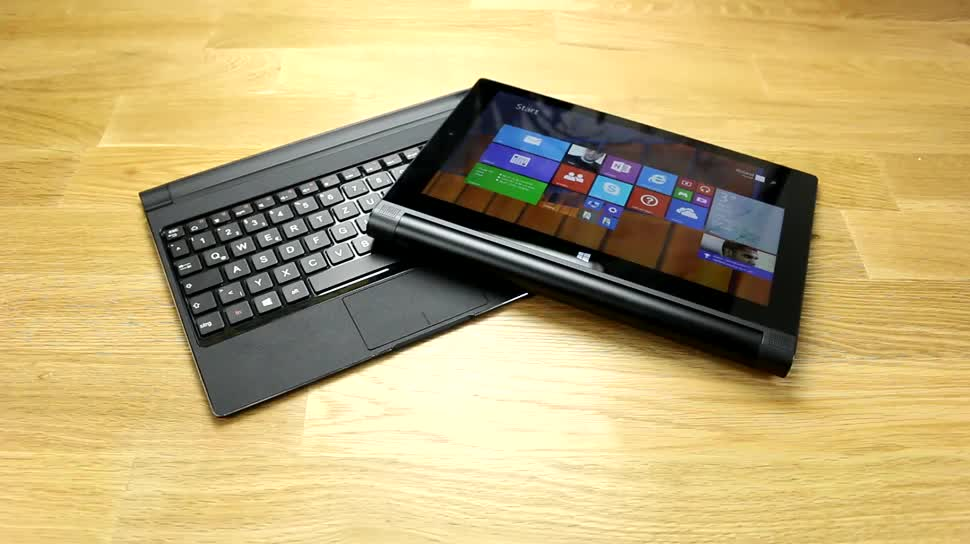 Tablet, Windows 8.1, Lenovo, Test, Hands-On, Hands on, Review, Yoga, Lenovo Yoga, Lenovo Yoga Tablet 2, Lenovo Yoga Tablet, Lenovo Yoga Tablet 2 10, Lenovo Yoga 2 10 mit Windows, Lenovo Yoga 2 10, Lenovo Yoga 2