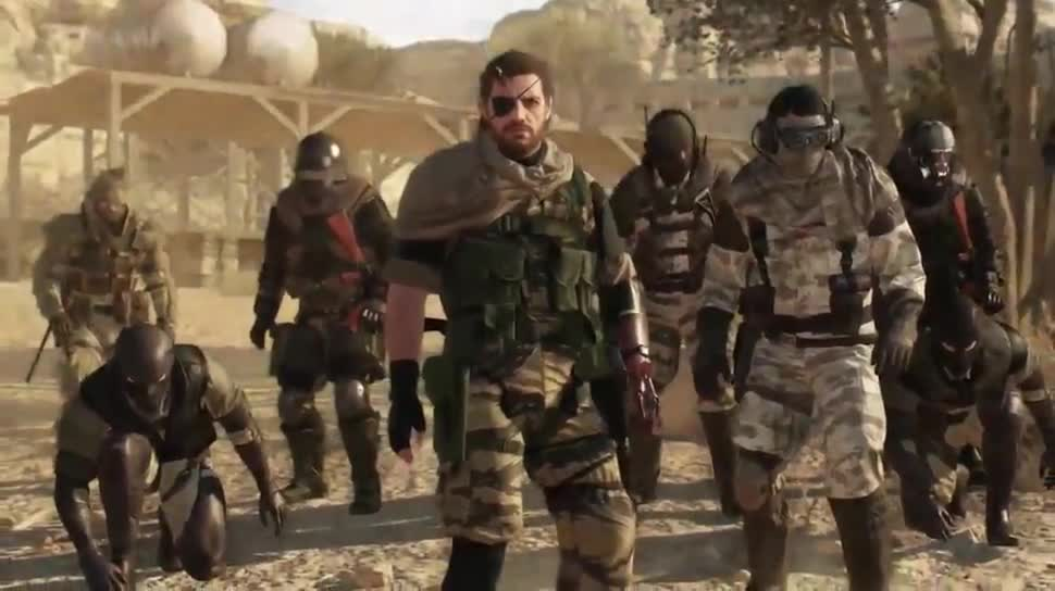 Trailer, actionspiel, Multiplayer, Konami, Metal Gear Solid, Hideo Kojima, Metal Gear Solid 5, The Phantom Pain, Game Awards, Game Awards 2014, Metal Gear Online