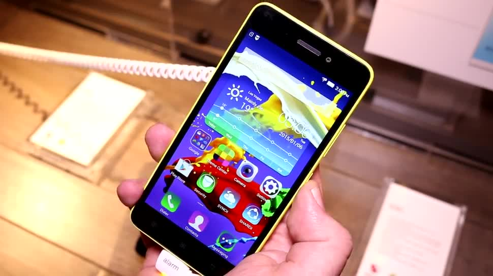 Smartphone, Android, Lenovo, Hands-On, Ces, Ces 2015, Lenovo S60, S60