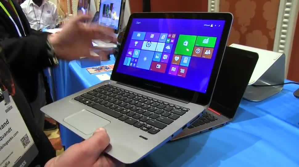 Notebook, Hp, Hewlett-Packard, Ces 2015, Elitebook Folio 1020, Intel Core-M
