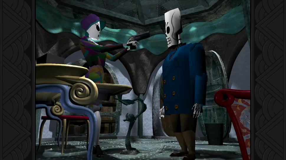 Trailer, Adventure, Point and Click Adventure, Double Fine, Grim Fandango Remastered, Grim Fandango
