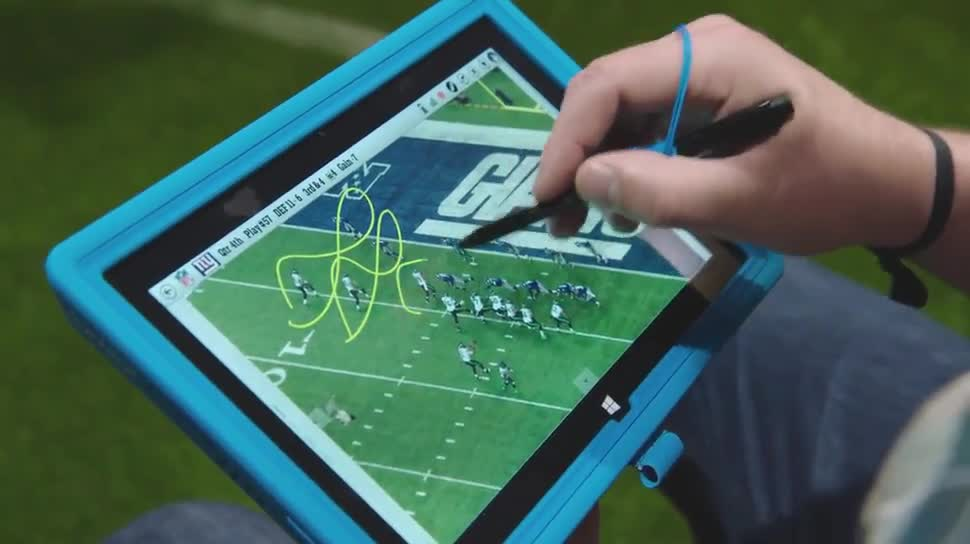 Microsoft, Windows, Tablet, Windows 8, Surface, Microsoft Surface, Super Bowl, Surface Tablet, Super Bowl 2015, Blake Bortles