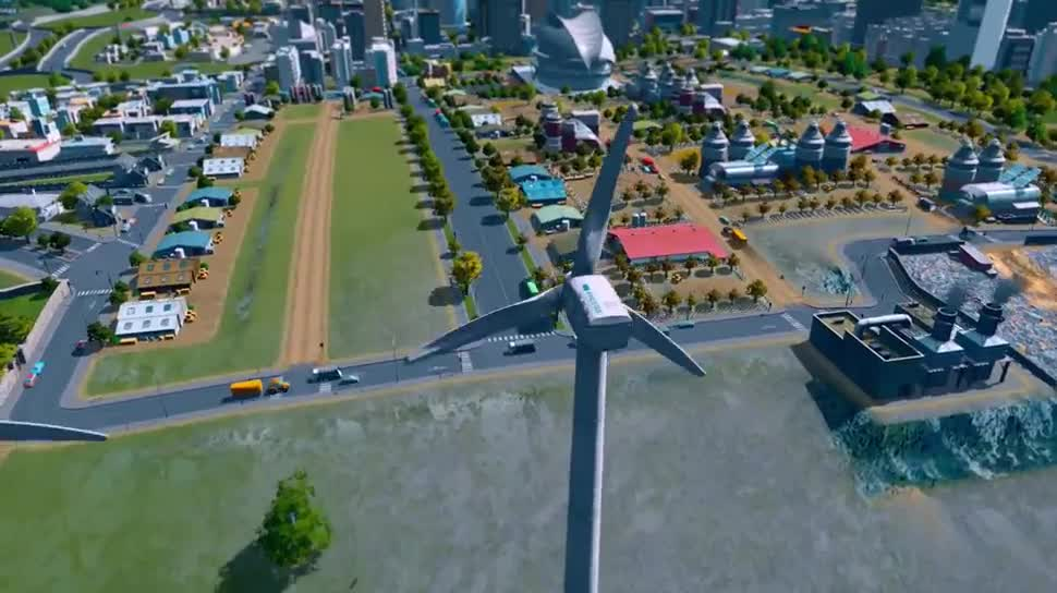 Trailer, Simulation, Paradox Interactive, Städtesimulation, Cities: Skylines