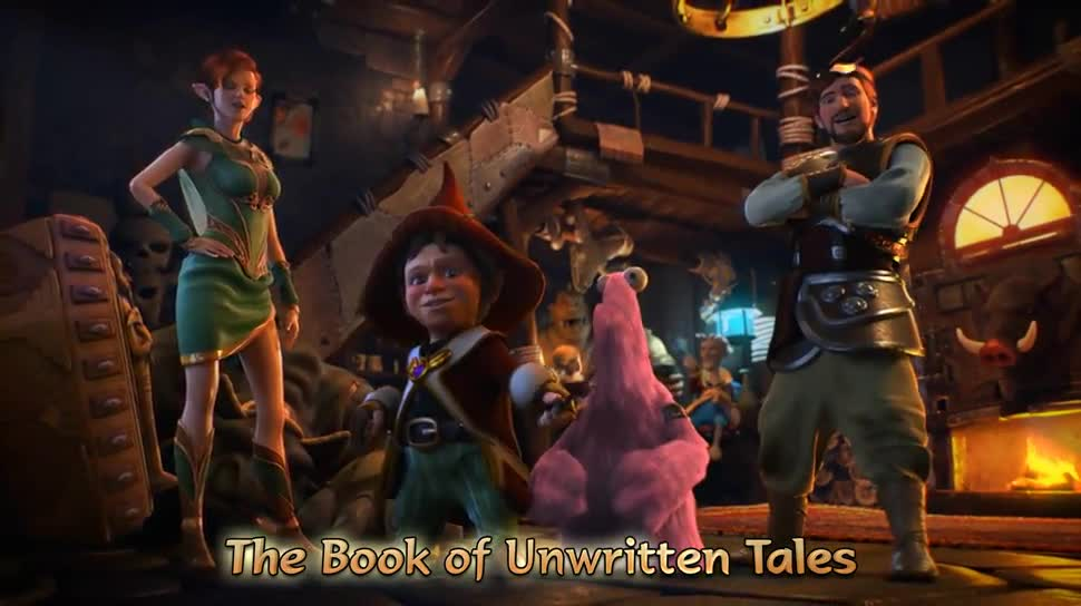 Trailer, Adventure, Point and Click Adventure, Nordic Games, The Book of Unwritten Tales, The Book of Unwritten Tales 2