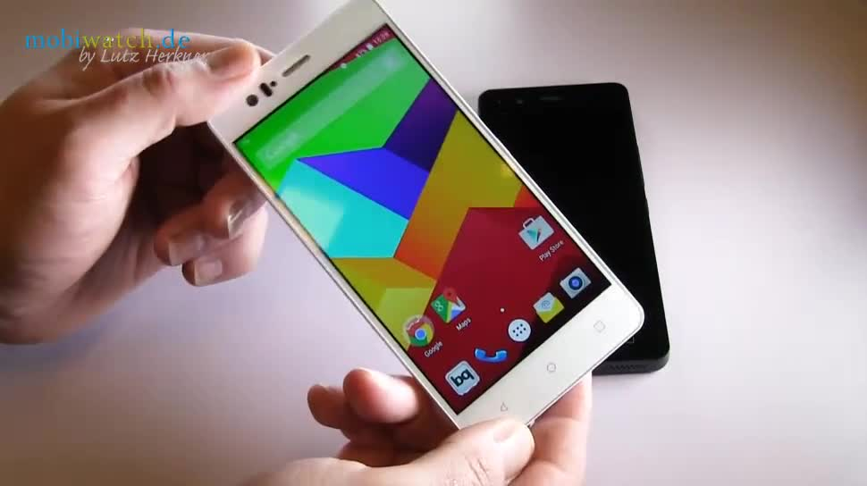 Smartphone, Android, Hands-On, Lollipop, Lutz Herkner, bq, M5, Aquaris, M4.5