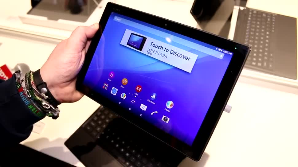 Android, Tablet, Sony, Mobile World Congress, MWC 2015, Xperia Z4