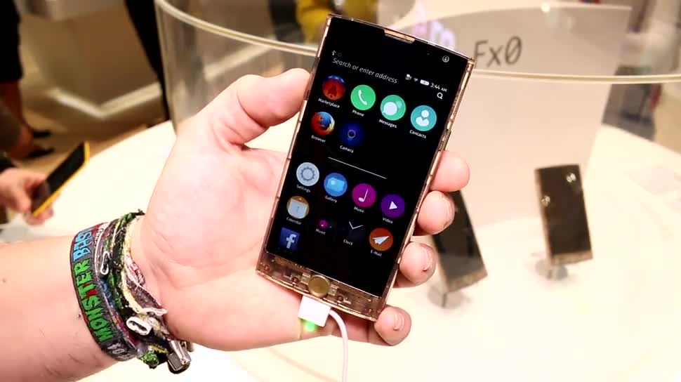 Smartphone, LG, Hands-On, Mobile World Congress, MWC 2015, Firefox OS, Fx0
