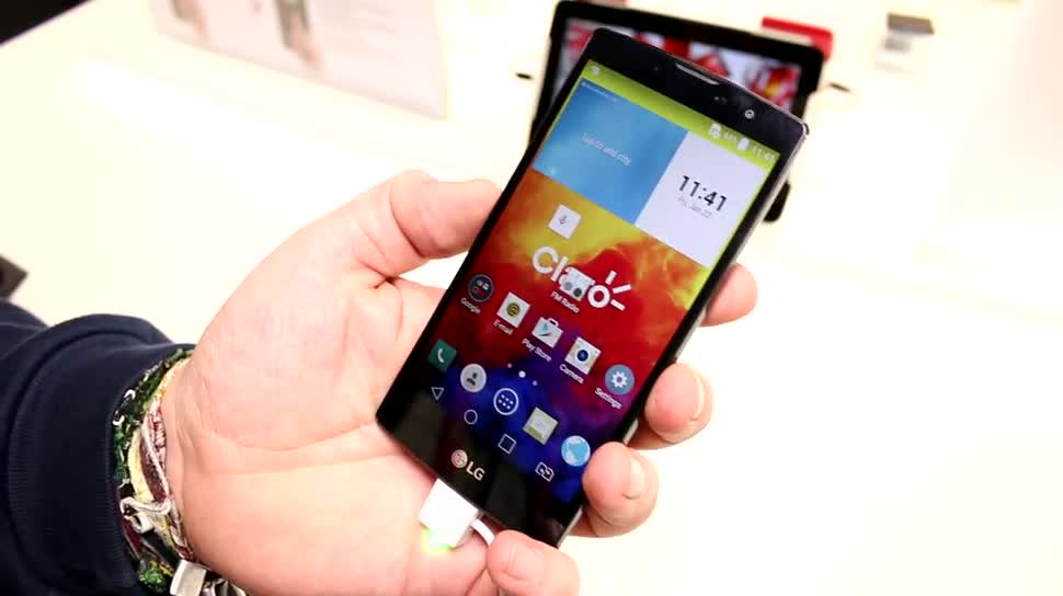 Smartphone, LG, Hands-On, Mobile World Congress, MWC 2015, Magna