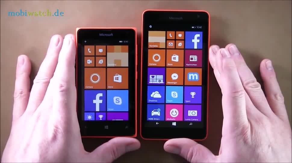 Microsoft, Smartphone, Windows Phone, Hands-On, Lutz Herkner, Lumia 535, Lumia 435