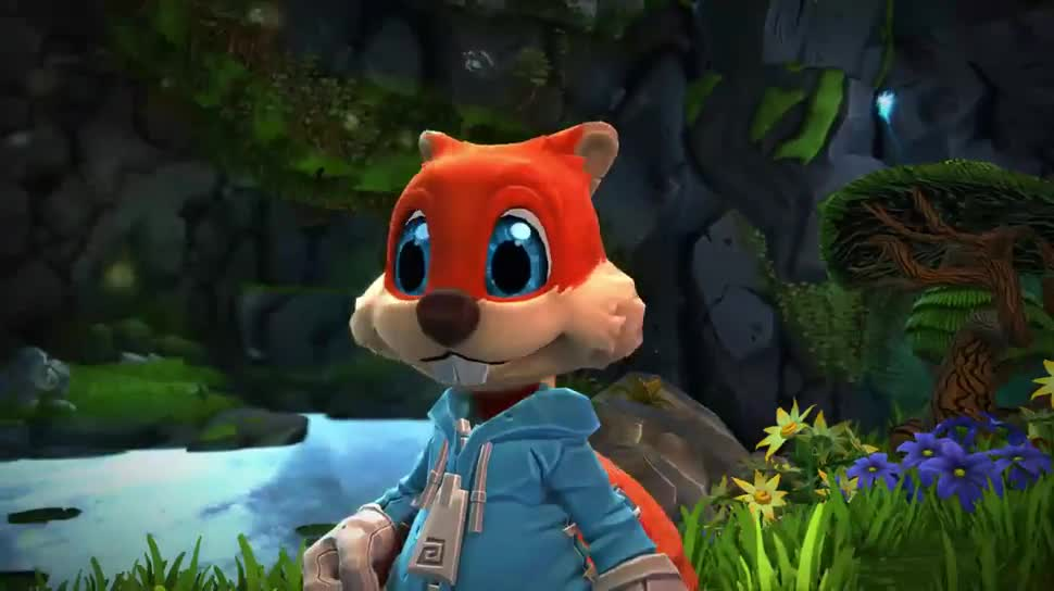 Microsoft, Project Spark, Eichhörnchen, Conker, Conker's Big Reunion