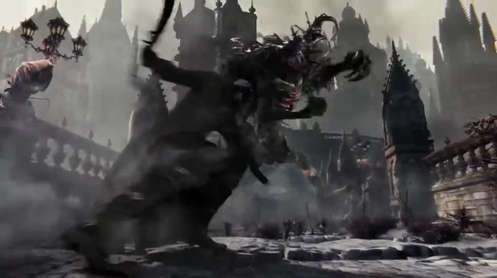 Trailer, Sony, PlayStation 4, Playstation, PS4, Sony PlayStation 4, Sony PS4, From Software, Bloodborne
