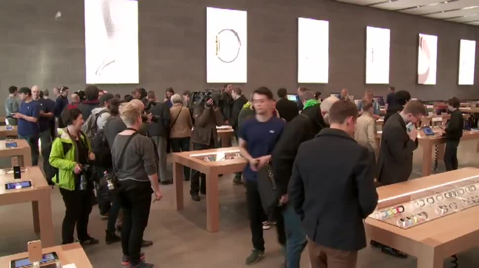 Apple, smartwatch, Wearables, Armbanduhr, Apple Watch, Apple Store