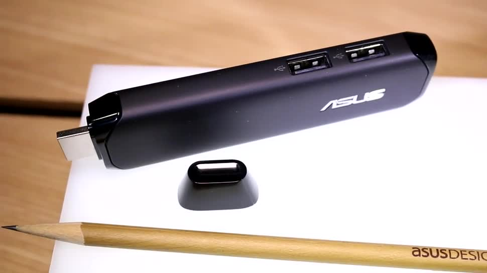"ASUS Pen Stick: Erster Windows 10 Stick-PC für den HDMI-Port mit Intel Atom ""Cherry Trail"""