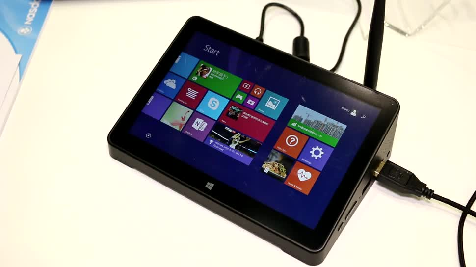 Microsoft, Tablet, Windows 8.1, Quadcore, Hands-On, Test, Touchscreen, Computex, Intel Atom, Review, Computex 2015, PiPO, Pipo X8, X8, Intel Atom Z3736F