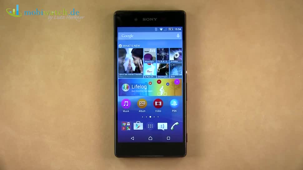 Smartphone, Android, Sony, Lutz Herkner, Xperia Z4, Xperia Z3+