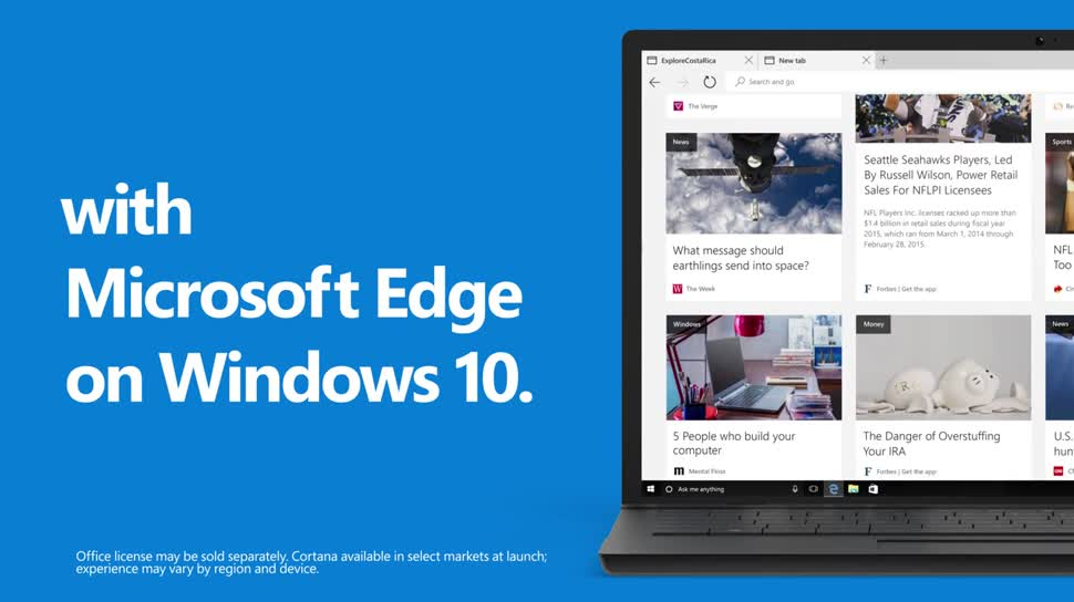 Microsoft, Betriebssystem, Windows, Windows 10, Browser, Edge, Microsoft Edge, 10 Gründe für Windows 10