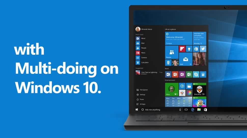 10 Gründe für Windows 10 - Multi-Doing