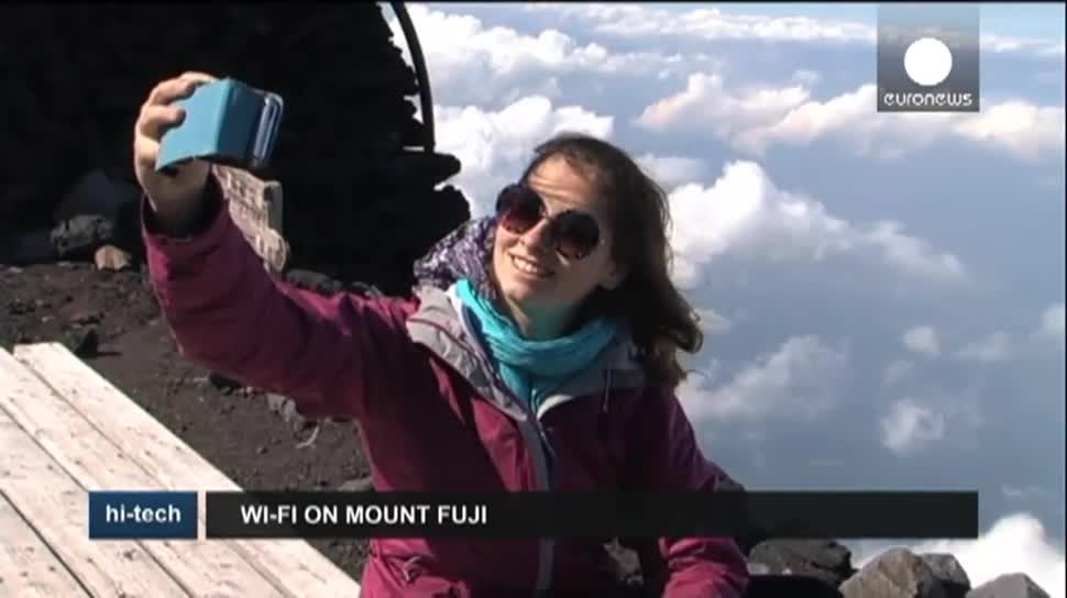 Wlan, Japan, WiFi, EuroNews, Berg, Fuji