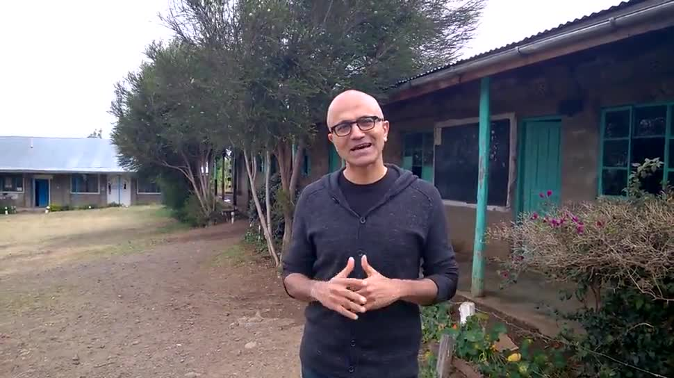 Microsoft, Betriebssystem, Windows, Windows 10, Ceo, Satya Nadella, Kenia, Nairobi
