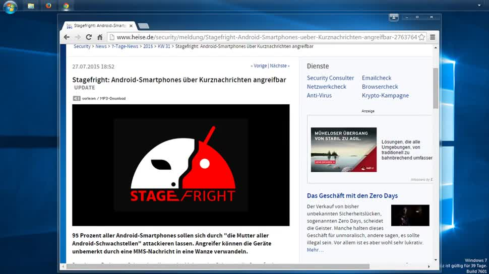 Android, Sicherheitslücke, SemperVideo, Hangouts, Workaround, Stagefright, Mms