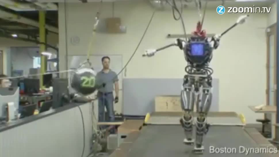 Google, Forschung, Zoomin, Roboter, Boston Dynamics, Atlas