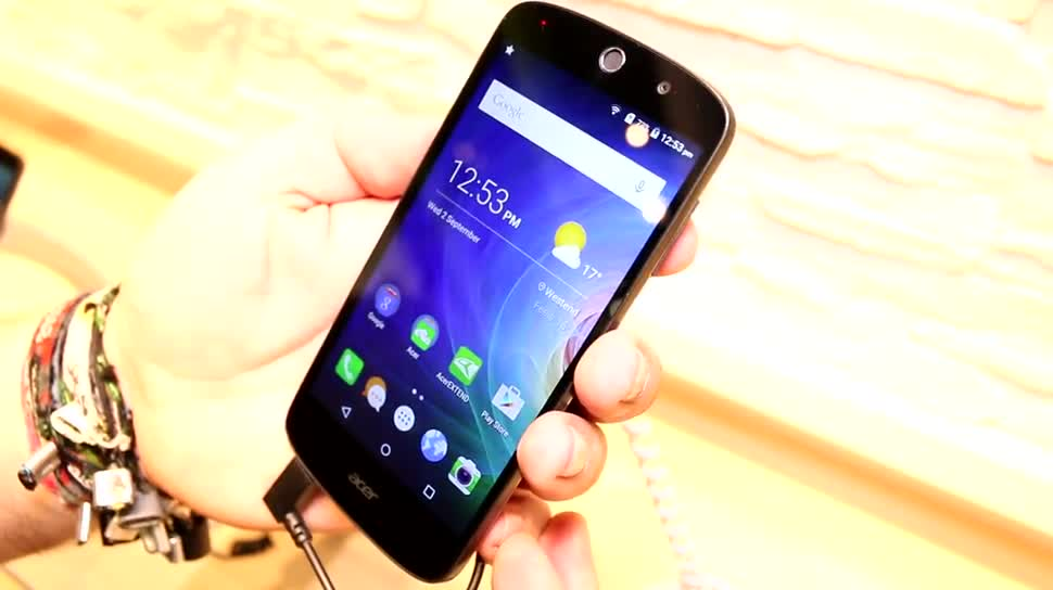 Hands-On, Ifa, Acer, IFA 2015, Acer Liquid, Acer Liquid Z530, Z530
