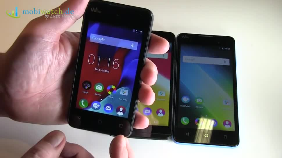 Smartphone, Hands-On, Lutz Herkner, IFA 2015, Wiko