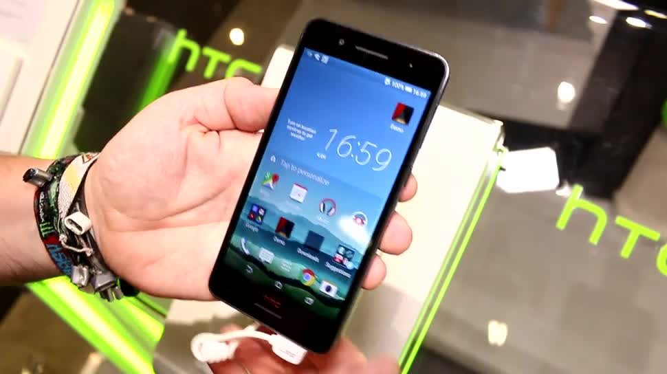 Hands-On, IFA 2015, Dual-SIM, HTC Desire 728g