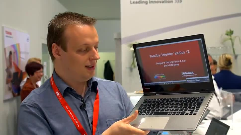 Notebook, Hands-On, Toshiba, ValueTech, IFA 2015, Satellite, Click