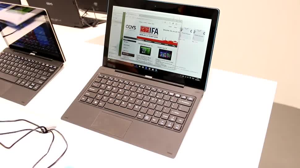 Tablet, Notebook, Quadcore, Test, Hands-On, Ifa, Hands on, 2-in-1, IFA 2015, Review, Intel Atom Z3735, Odys, Winpad, Odys Winpad 12