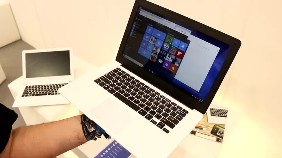 Windows 10, Notebook, Laptop, Hands-On, Test, Ifa, Hands on, Netbook, Review, IFA 2015, Windows 10 Home, Odys, Trendbook, Odys Trendbook 14