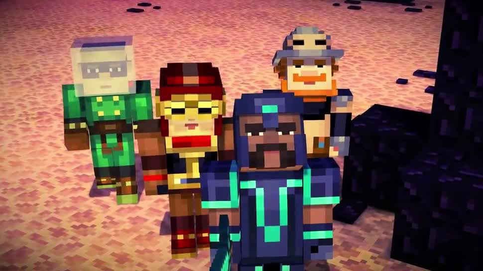 Trailer, Minecraft, Adventure, mojang, Telltale, Telltale Games, Minecraft: Story Mode