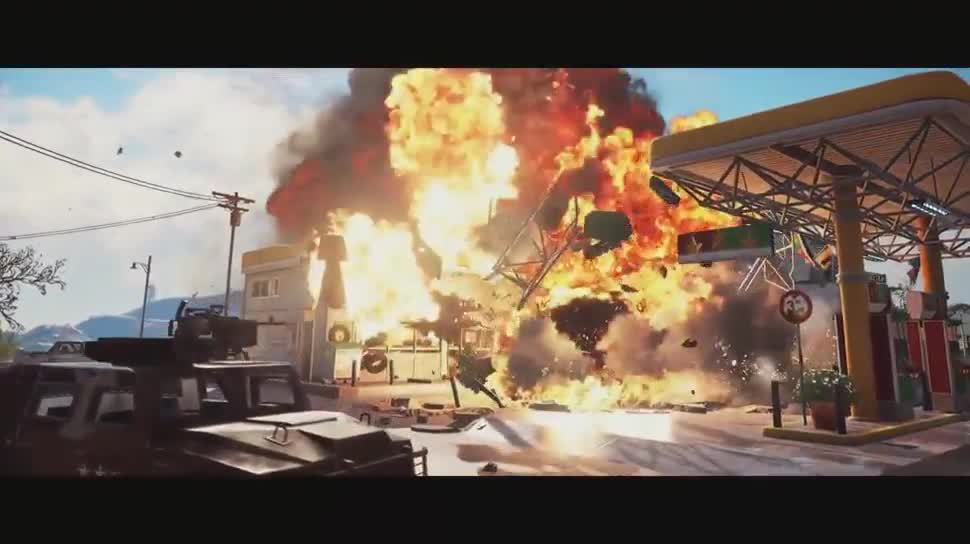 Trailer, actionspiel, Square Enix, Just Cause 3, Just Cause