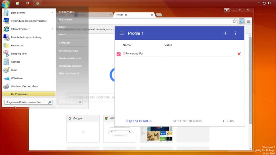 Browser, Chrome, SemperVideo, Ip, Proxy