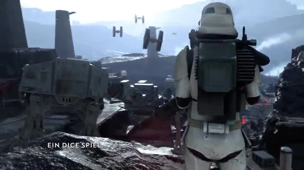 Trailer, Electronic Arts, Ego-Shooter, Ea, Star Wars, Dice, Star Wars: Battlefront, Star Wars Battlefront, Battlefront, Paris Games Week, Paris Games Week 2015