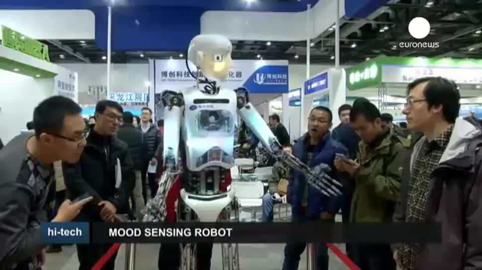 Roboter, Messe, EuroNews, Peking, World Robot Conference