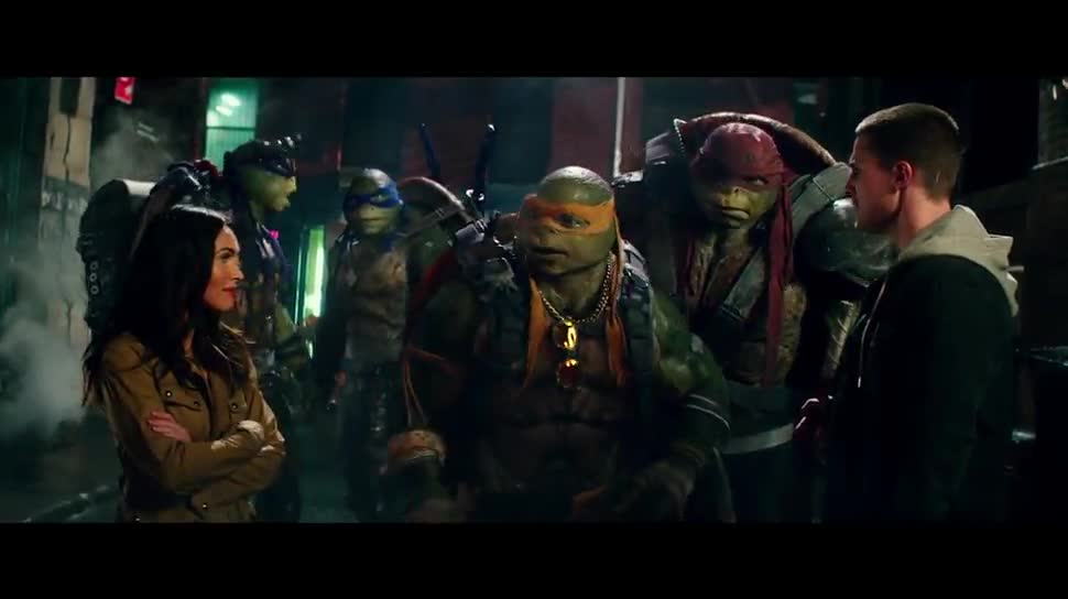 Trailer, Kinofilm, Paramount Pictures, Teenage Mutant Ninja Turtles, Out of the Shadows