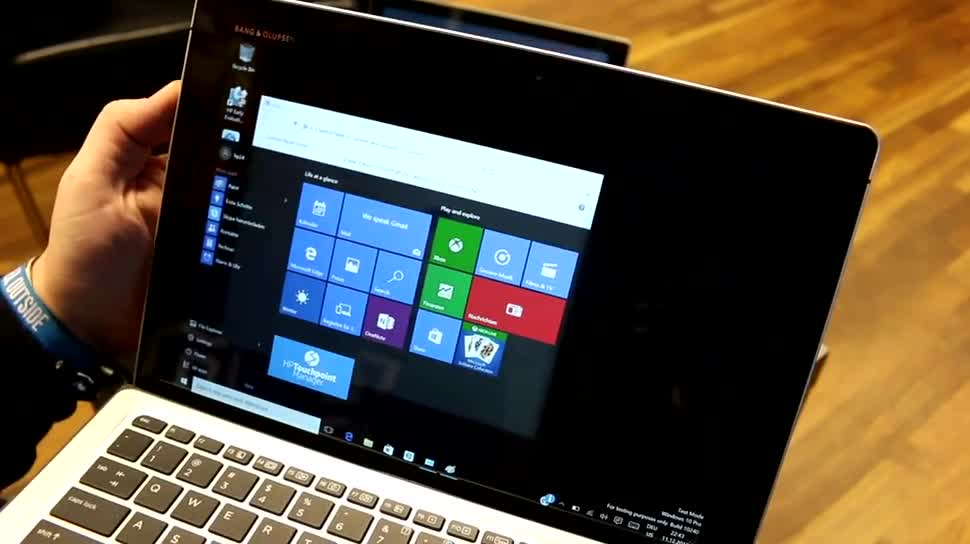Windows 10, Tablet, Intel, Laptop, Test, Hp, Hands-On, Tastatur, Hewlett-Packard, Hands on, Keyboard, Stylus, Review, Cover, Skylake, Intel Core M, Core M, HP Elite X2 1012, HP Spectre X2