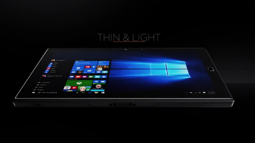 Tablet, Windows 10, Lenovo, Ces, CES 2016, Thinkpad, Lenovo ThinkPad, ThinkPad X1, ThinkPad X1 Tablet