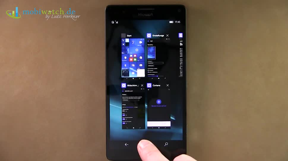 Microsoft, Betriebssystem, Windows 10 Mobile, Lutz Herkner, Lumia 950 XL