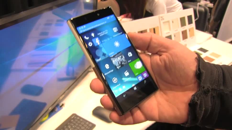 Windows 10 Mobile, Ces, CES 2016, NuAns NEO, NuAns, Neo