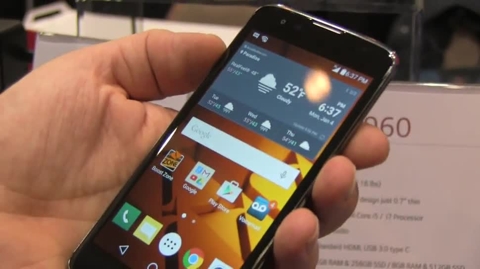 Smartphone, Android, LG, Ces, CES 2016, K7