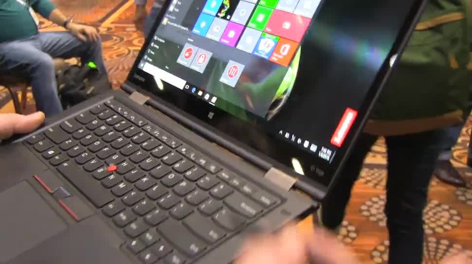 Notebook, Lenovo, Ces, Convertible, CES 2016, ThinkPad X1 Yoga