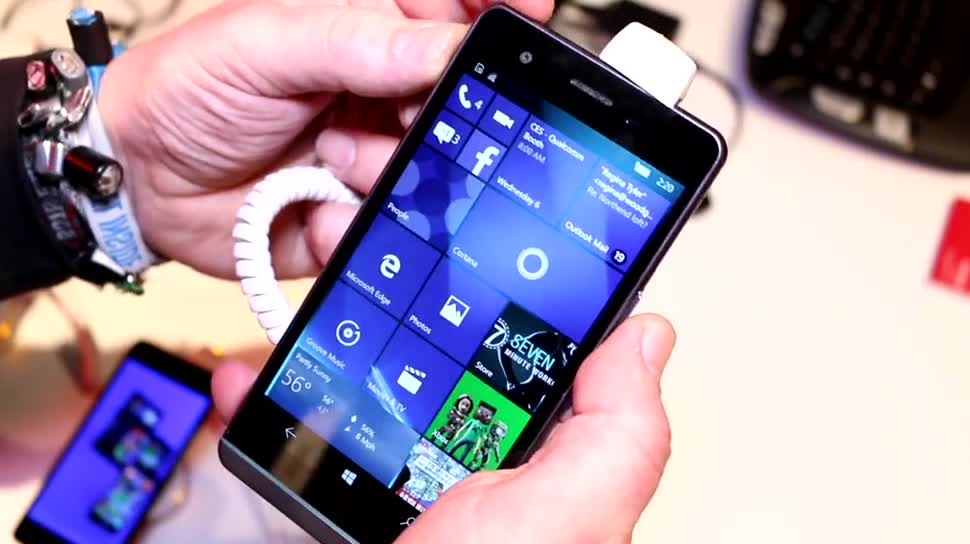 Smartphone, Windows 10, Windows 10 Mobile, Ces, CES 2016, BVC Coship, Moly X1
