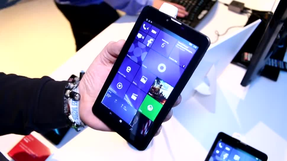 Tablet, Windows 10, Ces, CES 2016, Emdoor