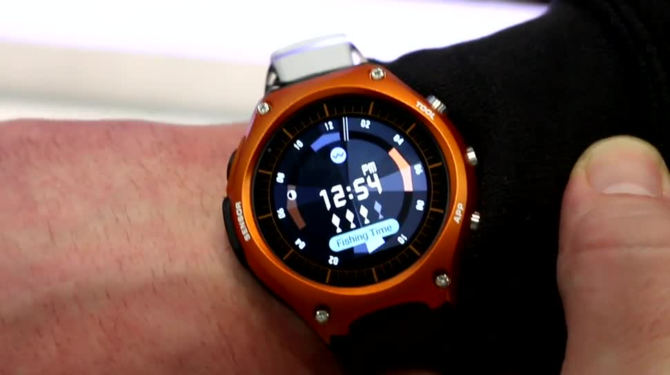 smartwatch, Ces, Android Wear, CES 2016, Casio, WSD-F10