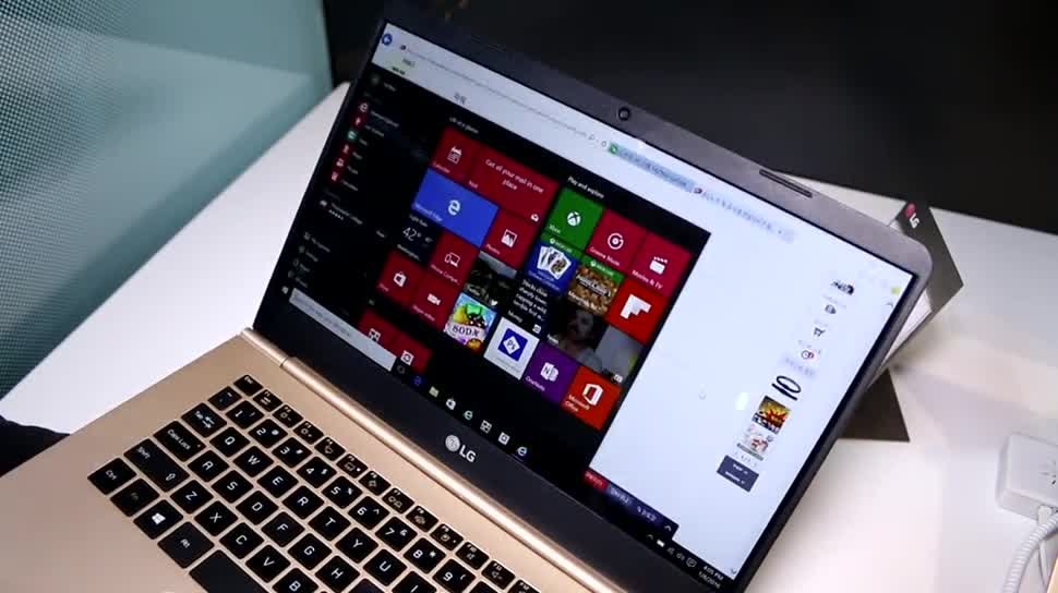 Windows 10, Notebook, LG, Ces, Ultrabook, CES 2016, LG Gram 14z960