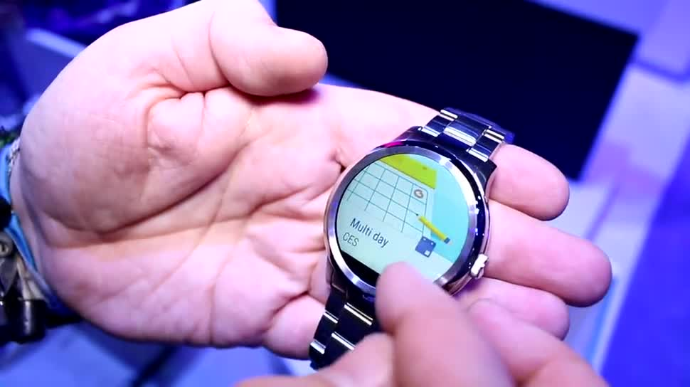 smartwatch, Hands-On, CES 2016, Armband, Fossil, Fossil Q Founder