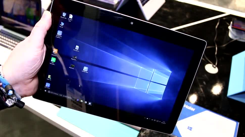 Tablet, Windows 10, Surface, Ces, CES 2016, Haier, HaierPad W1225P